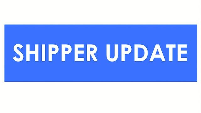 Housing & construction updates - Shipper Update