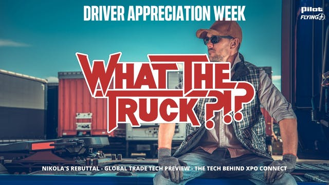 Driver appreciation week - WHAT THE T...
