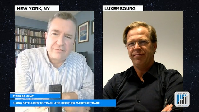 Using Satellites to Track and Decipher Maritime Trade - Fireside Chat