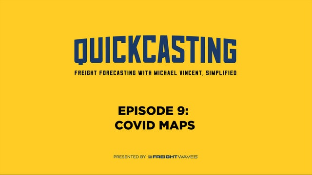 COVID-19 Maps - QuickCasting