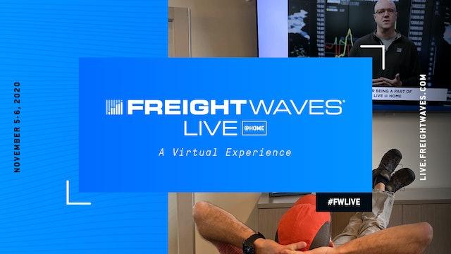 FreightWaves LIVE @HOME - FALL 2020 Demos