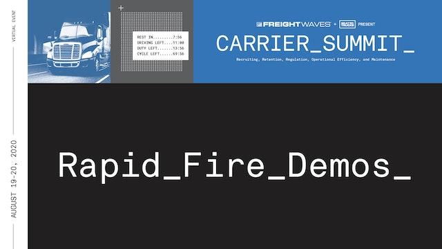 Demos: Carrier Summit