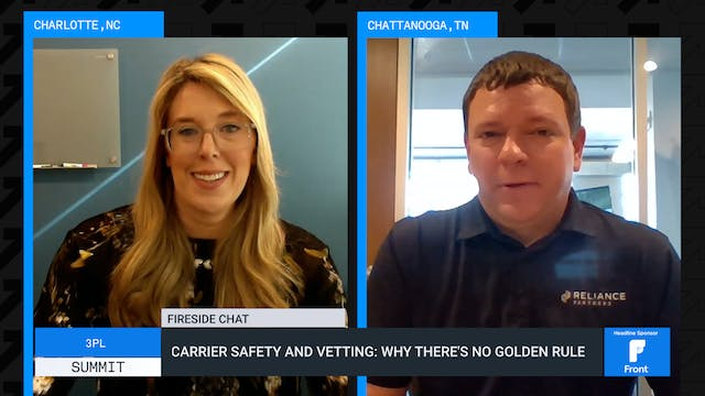 Carrier safety and vetting: Why there...