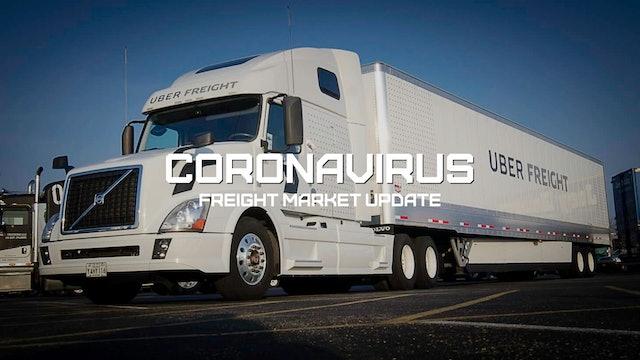 How COVID-19 is changing Uber's focus - Coronavirus Freight Market Update