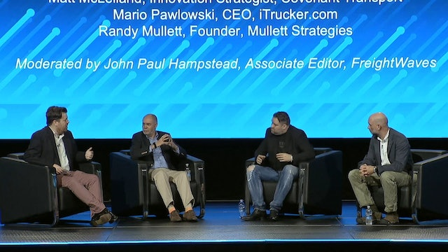 Transparency19: Sector Talk 7: Consumer Tech Trends Impacting Transportation
