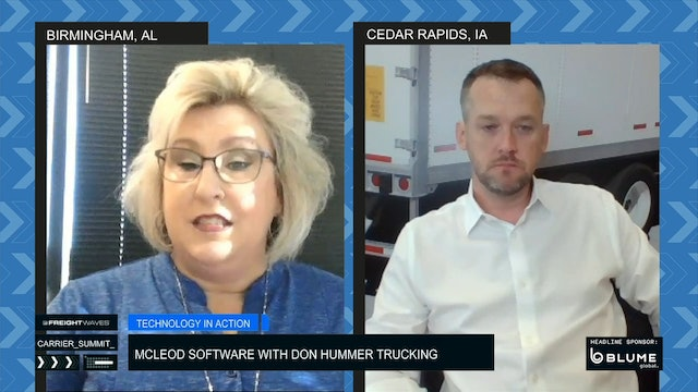 Technology in Action: McLeod Software with Don Hummer Trucking