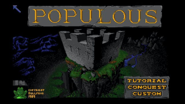 Peter Molyneux - How creating POPULOUS led to so much more