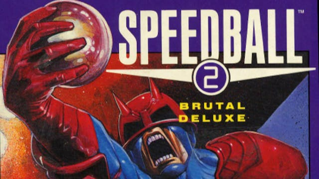 Mike Montgomery - Bitmaps Bros creating SPEEDBALL II