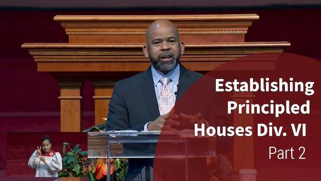 Establishing Principled Houses Div. I...