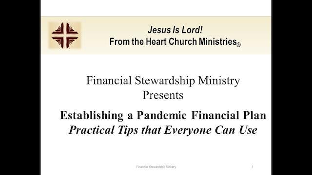 2020-06-13 Financial Stewardship Ministry Workshop