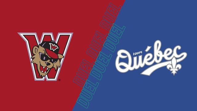 Wild Things de Washington vs Équipe Québec - 19 septembre 2021