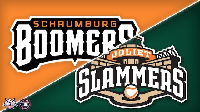 Schaumburg Boomers @ Joliet Slammers - July 14th, 2021@6:35PM (CDT)