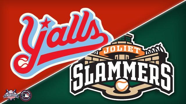 Florence Y'alls @ Joliet Slammers- Sept. 4th, 2021@ 6:05PM (CDT)
