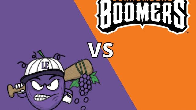 Schaumburg Boomers vs Lake Erie Crushers 8_27_21