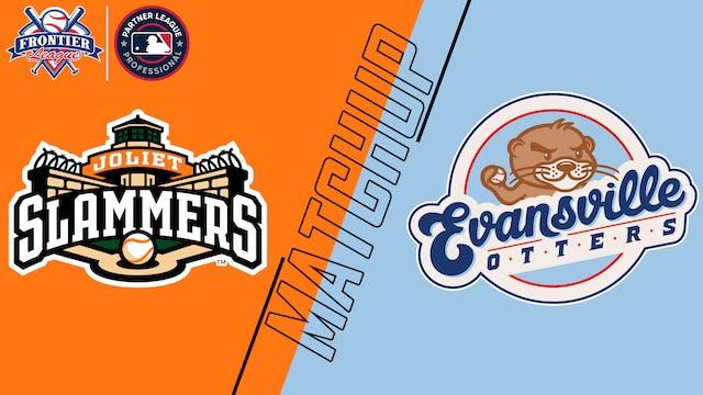 Joliet Slammers vs. Evansville Otters...