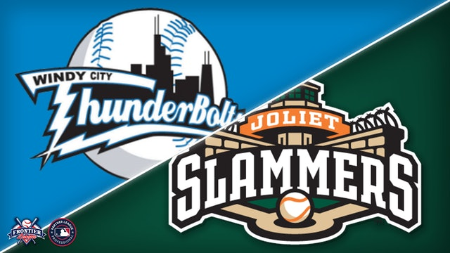 Windy City Thunderbolts @ Joliet Slammers - July 29th, 2021 @ 6:35PM (CDT)