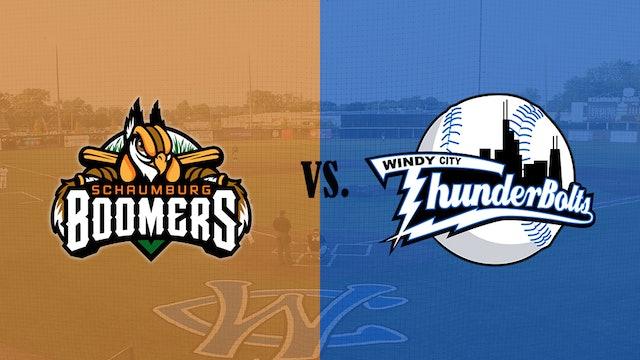 Windy City ThunderBolts v. Schaumburg Boomers 8/1