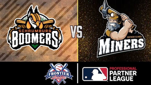 Schaumburg Boomers vs Southern Illinois Miners - July 28, 2021 (Game 2)