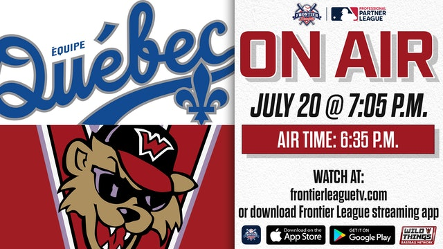 Équipe Québec @ Washington - 7/20 - 7:05 p.m. - Part 5