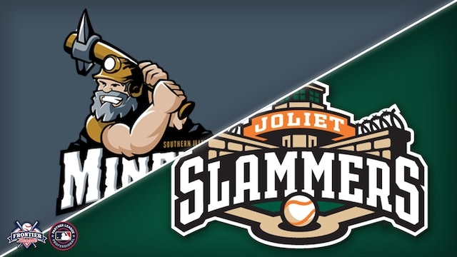 Southern Illinois Miners @ Joliet Slammers - August 13th, 2021@6:50PM (CDT)