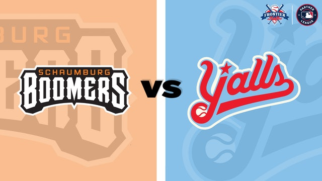 (8/3) Florence Y'alls v. Schaumburg Boomers