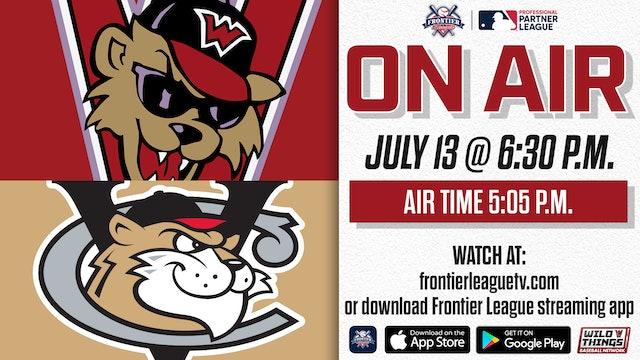 Washington @Tri-City - July 13 - 6:30 p.m.