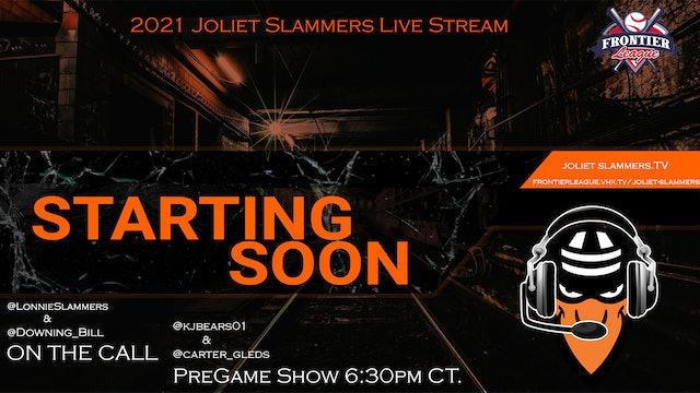 Joliet Slammers Vs. Schaumburg Boomers - July 13th, 2021