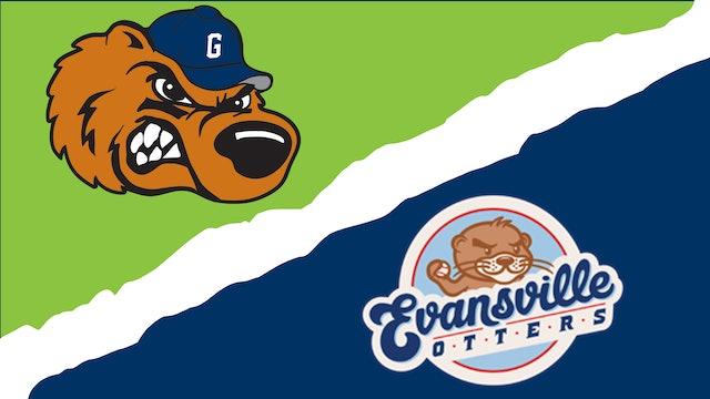 Gateway Grizzlies vs. Evansville Otters - July 2nd, 2021