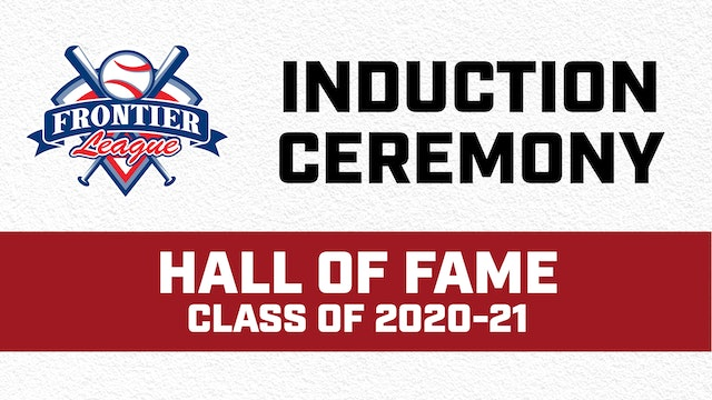 Frontier League Hall of Fame Ceremony