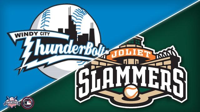 Windy City Thunderbolts @ Joliet Slammers - August 22nd, 2021 @ 1:05PM (CDT)
