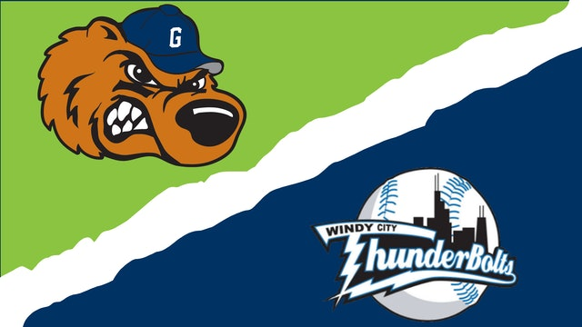 Gateway Grizzlies vs. Windy City ThunderBolts - August 18th, 2021