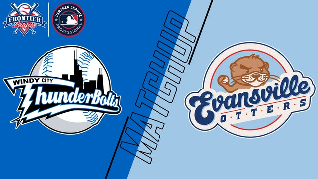 Windy City Thunderbolts vs. Evansville Otters - August 26, 2021