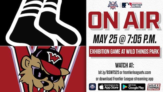 5/25 - Black Sox vs Wild Things (Exhi...