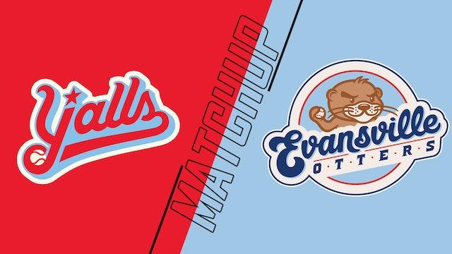 Florence Y'alls vs. Evansville Otters - July 29, 2021