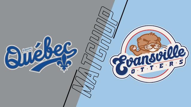 Équipe Québec vs. Evansville Otters - May 29, 2021