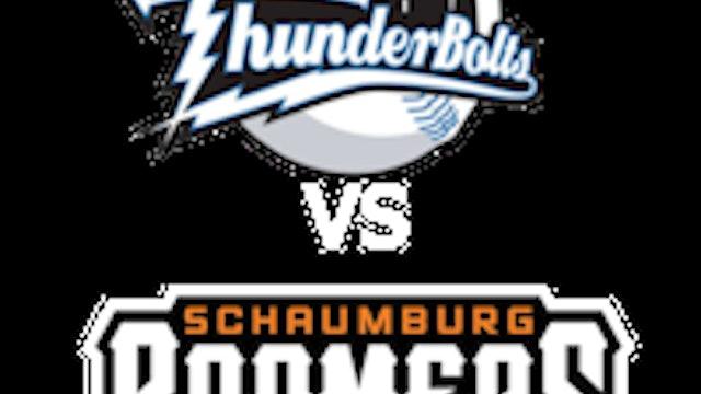 Schaumburg Boomers vs Windy City Thunderbolts 7_6_21