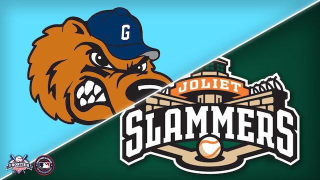 Gateway Grizzles @ Joliet Slammers - August 1st, 2021 @ 12:35PM (CDT)