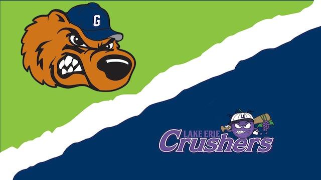 Gateway Grizzlies vs. Lake Erie Crushers - July 22nd, 2021