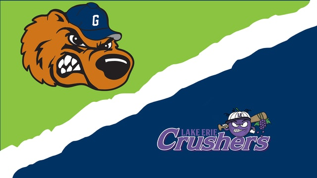 Gateway Grizzlies vs. Lake Erie Crushers - July 21st, 2021