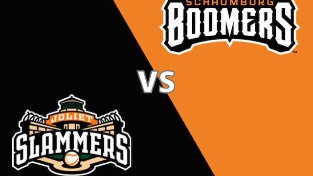 Schaumburg Boomers vs Joliet Slammers 7-20-21