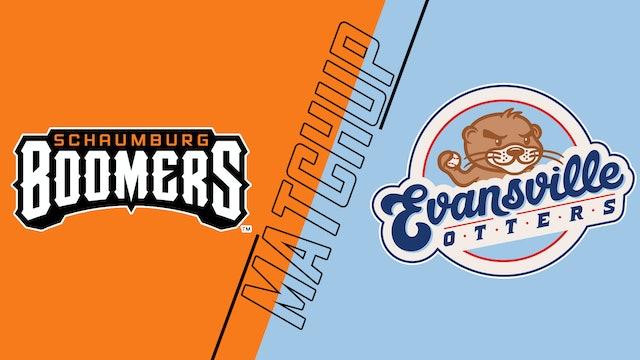 Schaumburg Boomers vs. Evansville Otters - July 10, 2021