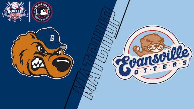 Gateway Grizzlies vs. Evansville Otters - August 21, 2021