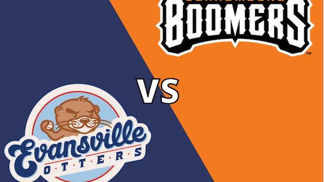 Schaumburg Boomers vs Evansville Otters 9-3-21