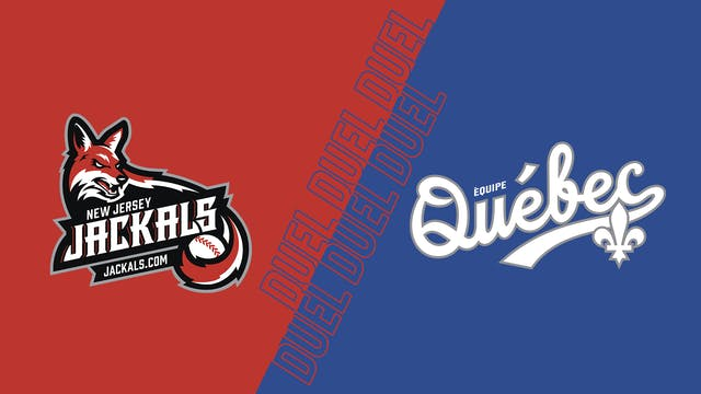 Jackals du New Jersey VS Équipe Québe...
