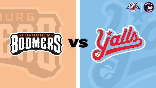 (8/5) Florence Y'alls v. Schaumburg Boomers