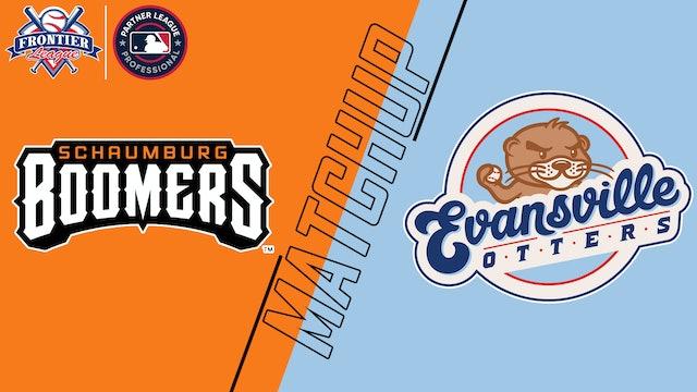 Schaumburg Boomers vs. Evansville Otters - July 9, 2021