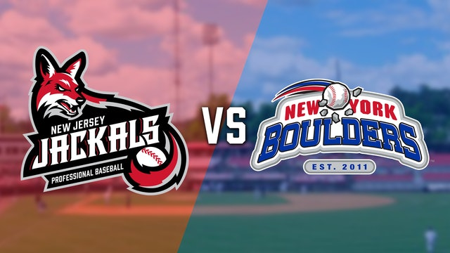 New Jersey Jackals VS New York Boulders - 6/22