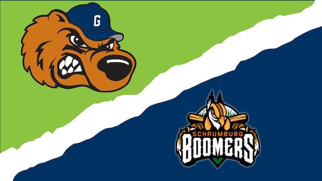 Gateway Grizzlies vs. Schaumburg Boomers - September 1st, 2021