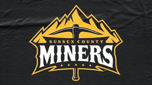 Sussex County Miners VS Tri-City Valleycats - May 29th, 2021