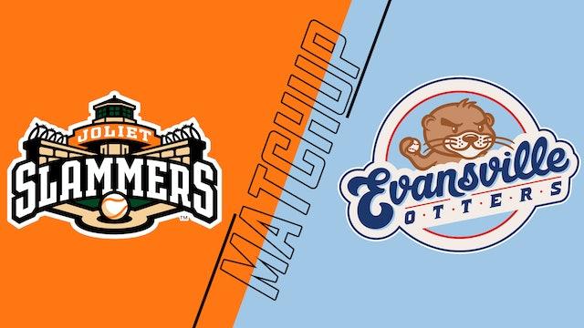 Joliet Slammers vs. Evansville Otters - July 8, 2021